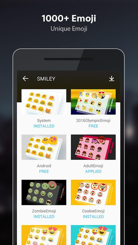 TouchPal Emoji Keyboard 6.1.4.5 Screen 7