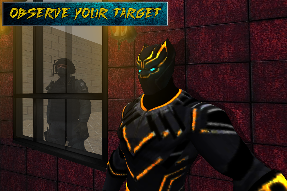 Secret Panther Spy Agent Game 1.0 Screen 5