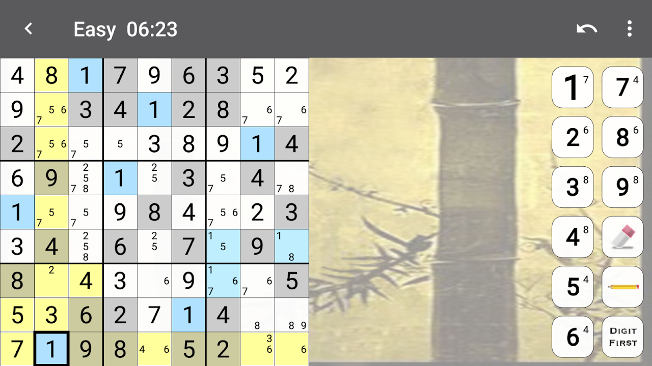 Android Sudoku Screen 4