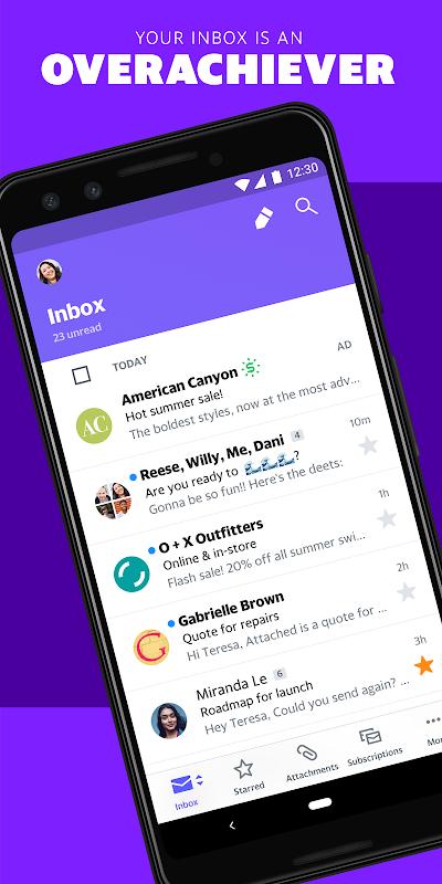Yahoo Mail - Stay Organised 6.0.12 Screen 11