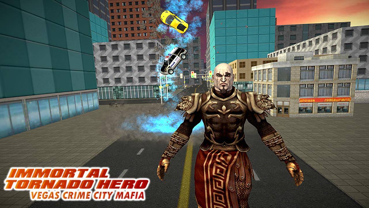 Android Immortal Tornado hero - Vegas Crime City Mafia Screen 2
