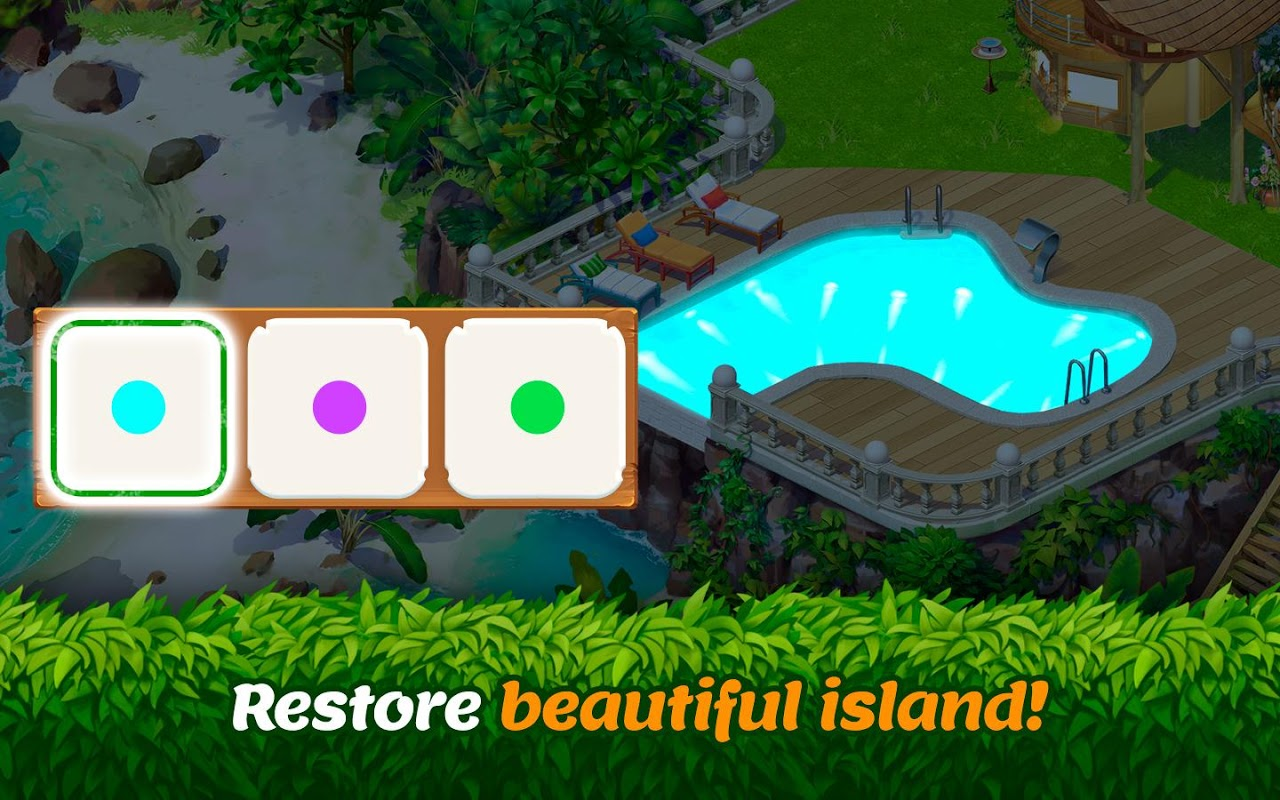 Tropical Forest - Adventure Match 3 Puzzle Game 0.126 Screen 9