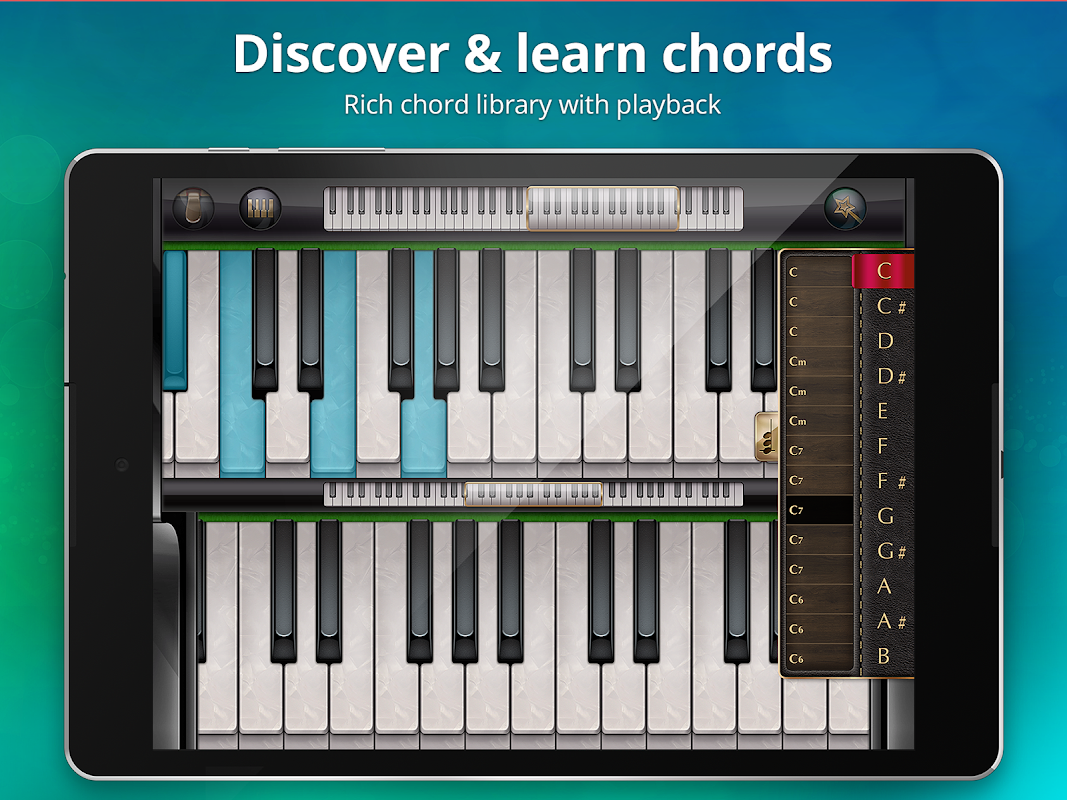 Android Piano Free - Keyboard with Magic Tiles Music Games Screen 12