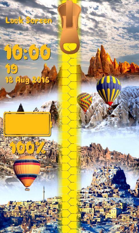 Balloon Zipper Lock Screen 1.2 Screen 5