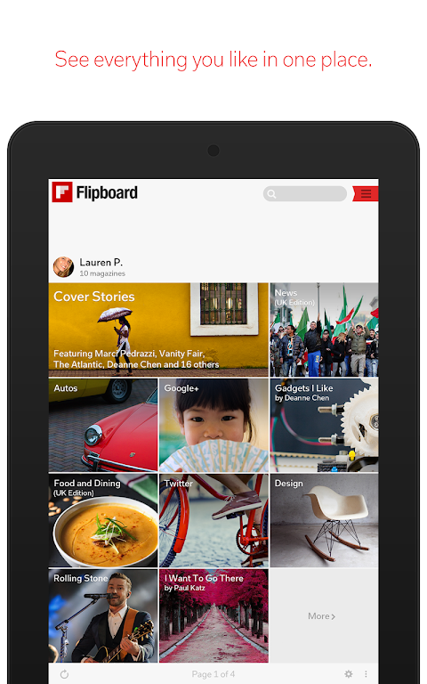 Android Flipboard: News For Any Topic Screen 14