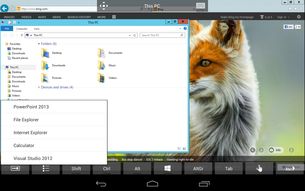Microsoft Remote Desktop 8.0.5.24406 Screen 12