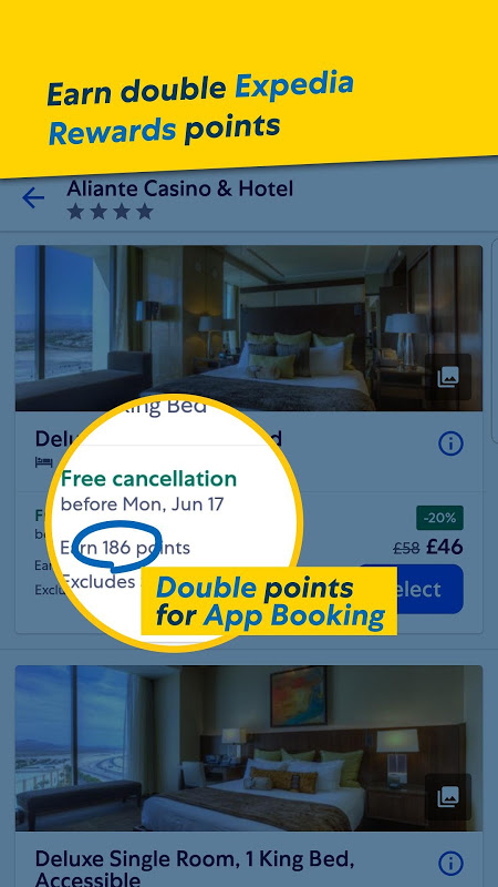 Expedia Hotels, Flights, Car Hires & Activities 19.29.0 Screen 9