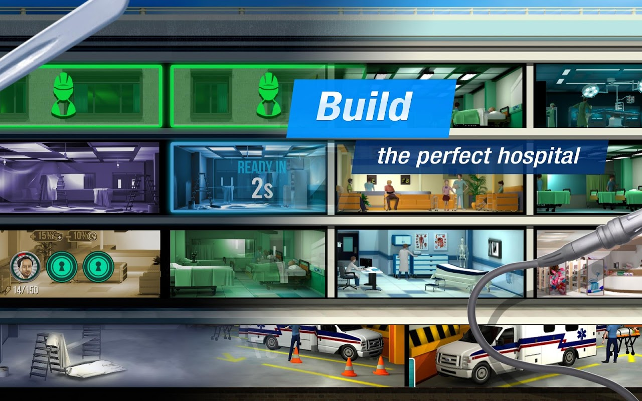 Operate Now: Hospital 1.29.1 Screen 1