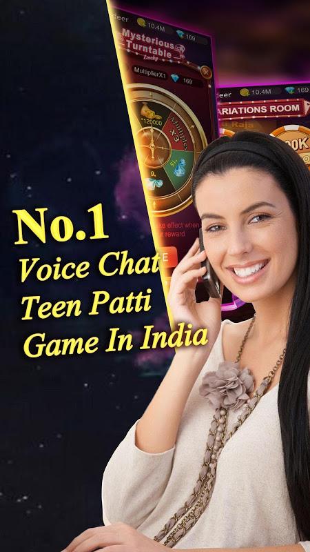 Android Teen Patti Raja- Indian poker and 3 patti free casino game Screen 4