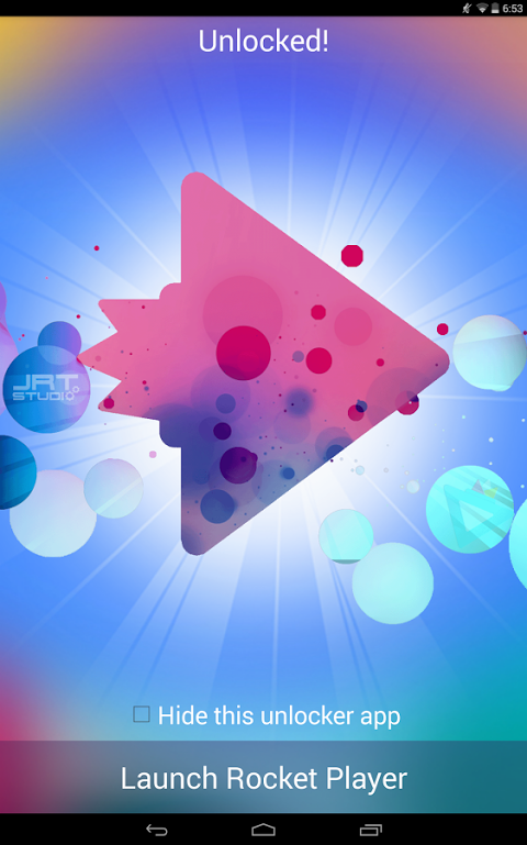 Android Rocket Player Premium Audio Screen 8
