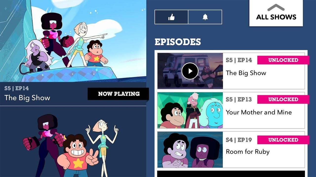 Cartoon Network App 1.4.3.1809251921 Screen 2