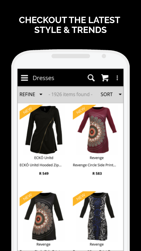 Zando Fashion Online Shopping 1.0.8 Screen 2