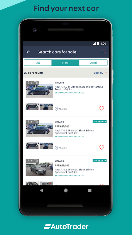 Android Auto Trader - Buy, sell and value new & used cars Screen 2