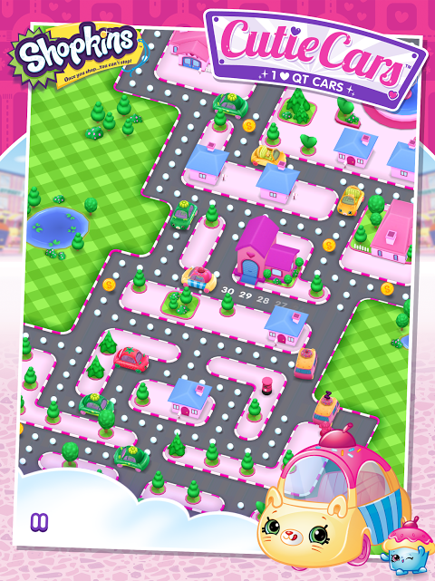 Android Shopkins: Cutie Cars Screen 5
