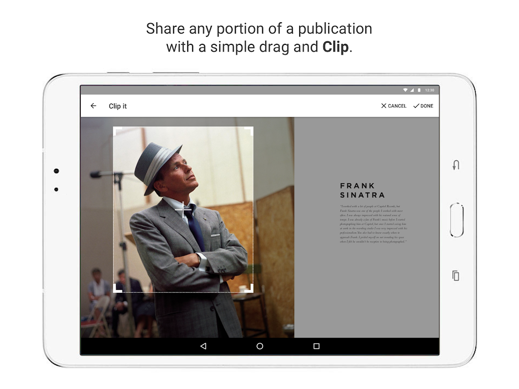 issuu - Read Magazines, Catalogs, Newspapers. 5.18.0 Screen 10