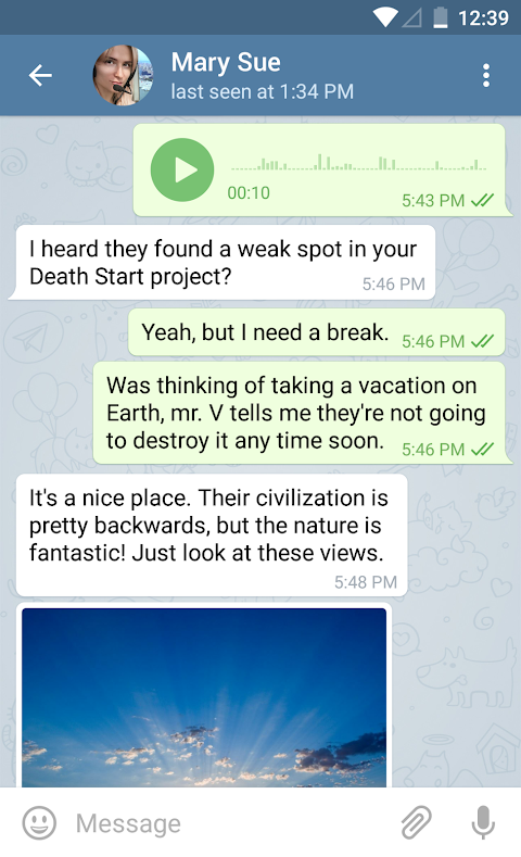 Telegram 4.9.1 Screen 8