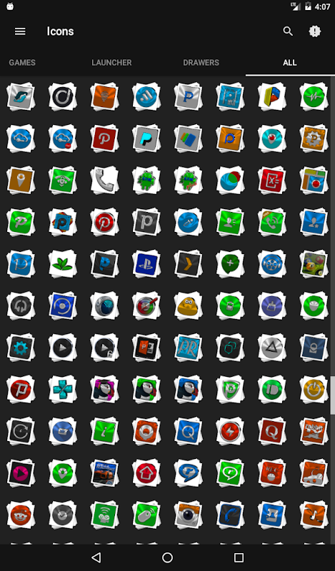 Android Stacks Icon Pack v4.2 Screen 23