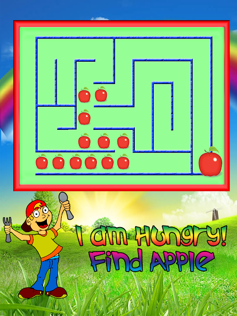 Android Kids Maze : Educational Kids Game Screen 4