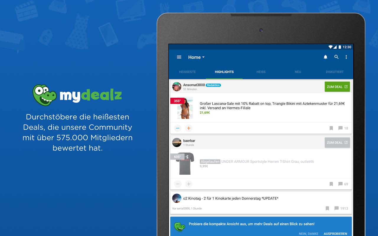 mydealz – Gutscheine & Deals 5.3.03 Screen 9