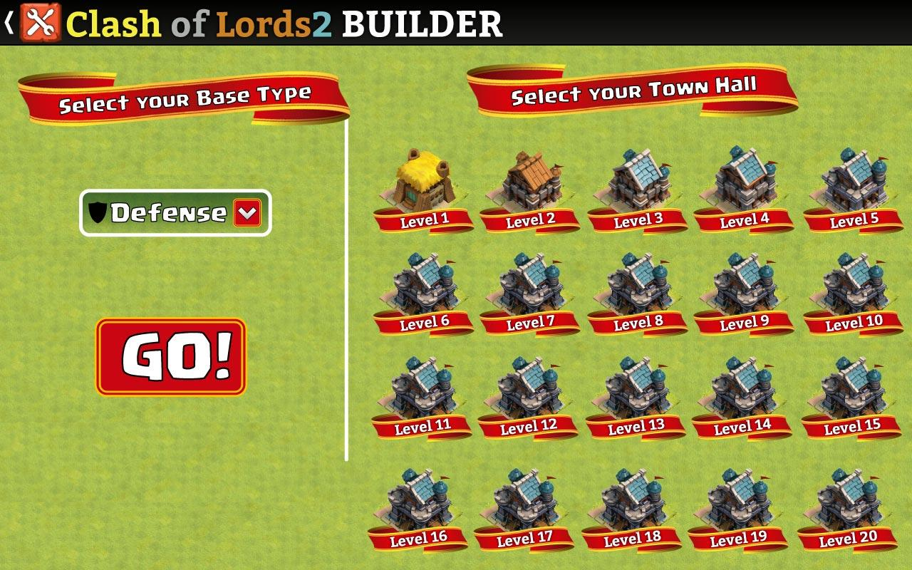 Android Clash of Lords 2 Builder Screen 6
