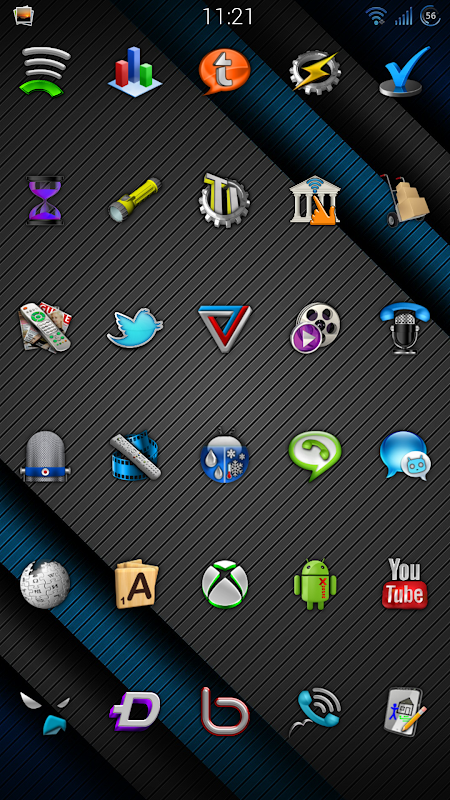Cobalt Icon Pack 9.9 Screen 5