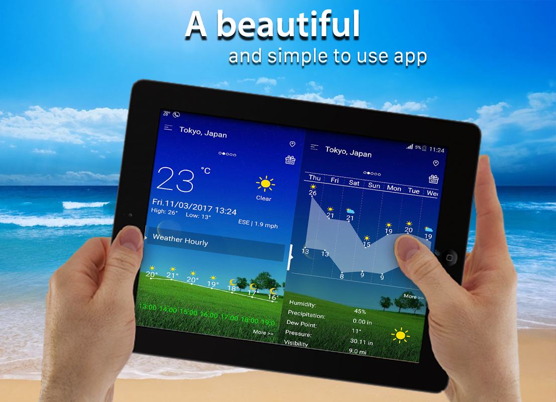 Android Weather radar Screen 8