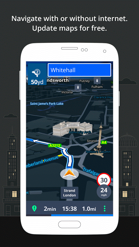 GPS Navigation & Maps Sygic 17.0.7 Screen 1