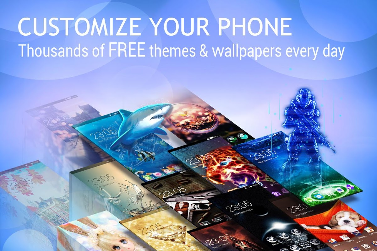 Android U Launcher Lite – FREE Live Cool Themes, Hide Apps Screen 3