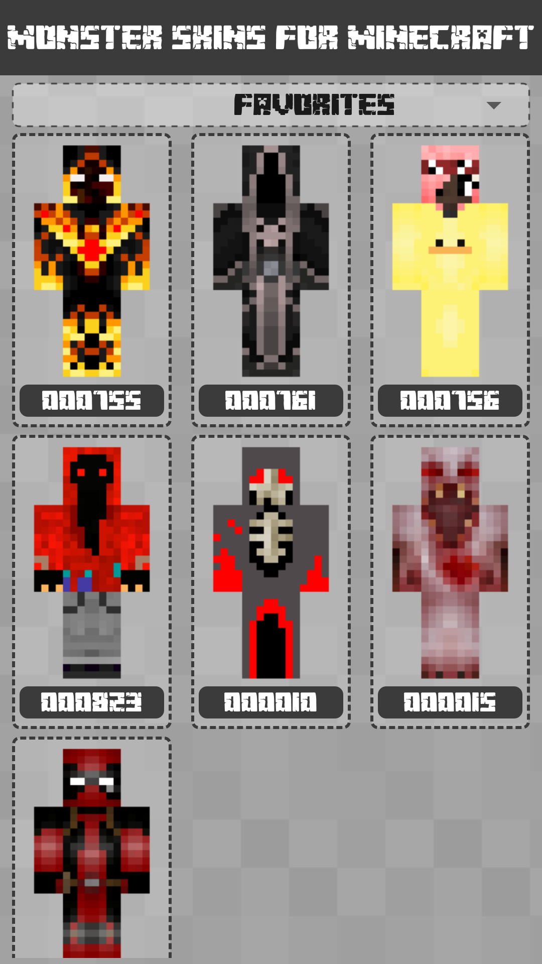 Android Monster Skins for Minecraft PE Screen 3