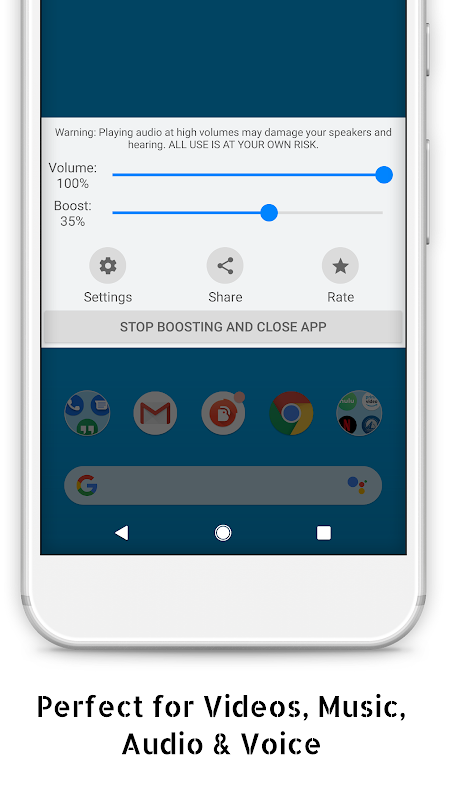 Speaker Boost - Volume Booster 3.0.11 Screen 3