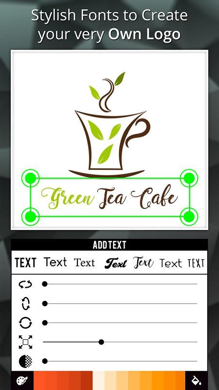 Android Logo Maker - Logo Creator, Generator & Designer Screen 1