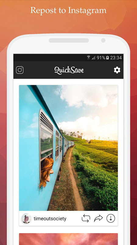 QuickSave for Instagram 2.2.9 Screen 1