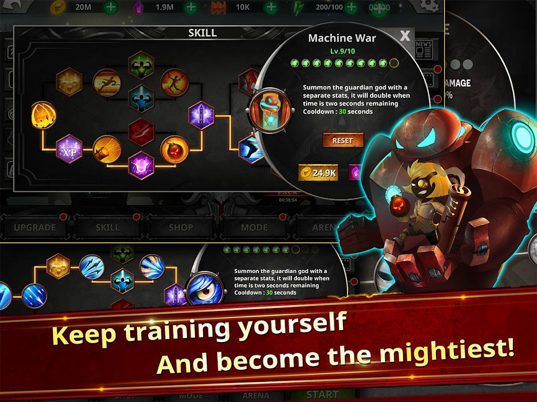 Android Stickman Legends - Ninja Warriors: Shadow War Screen 4