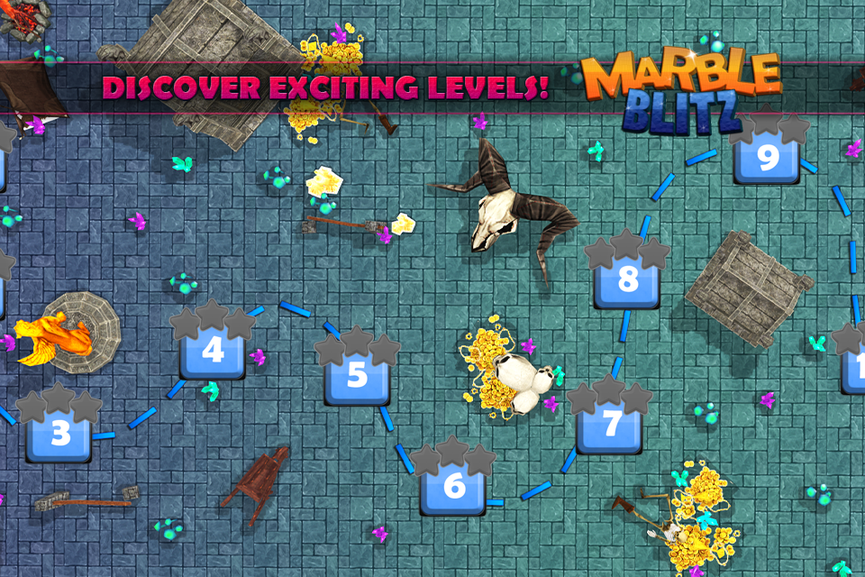 Android Marble Blitz Ball Blast Legend Screen 9