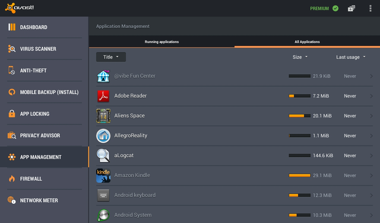 Android Avast Mobile Security Screen 8