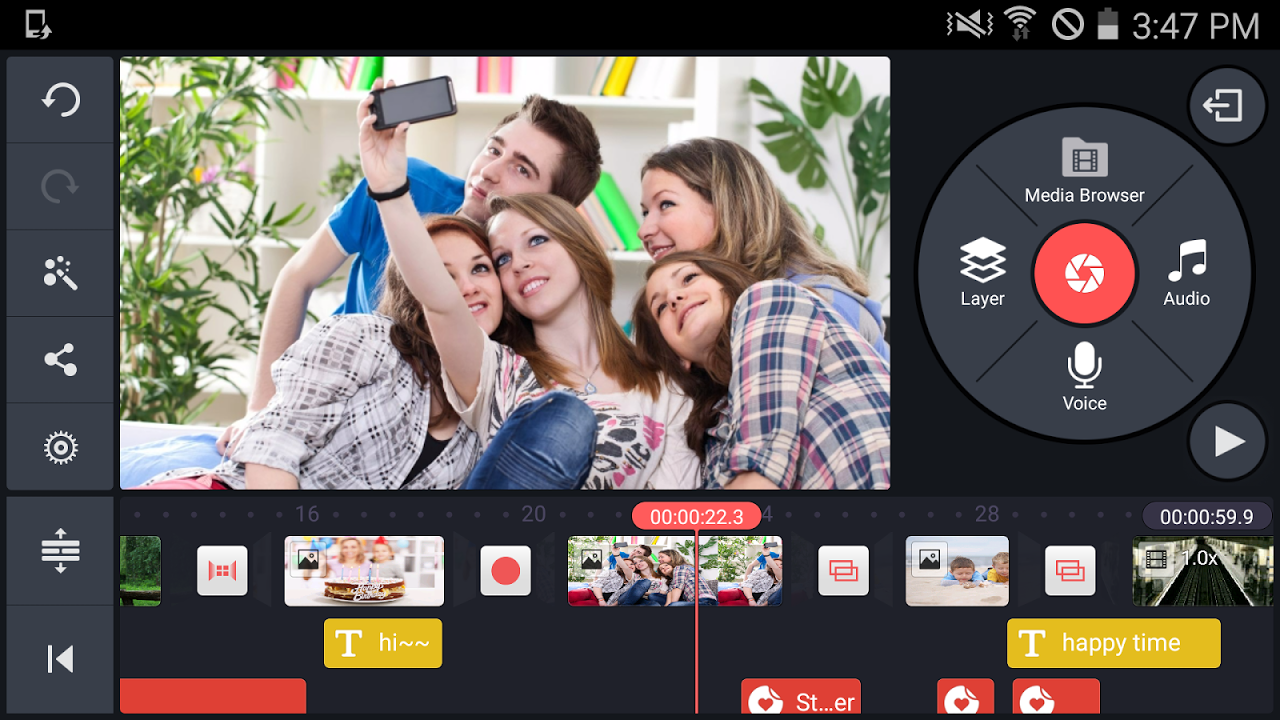 Android KineMaster – Pro Video Editor Screen 3