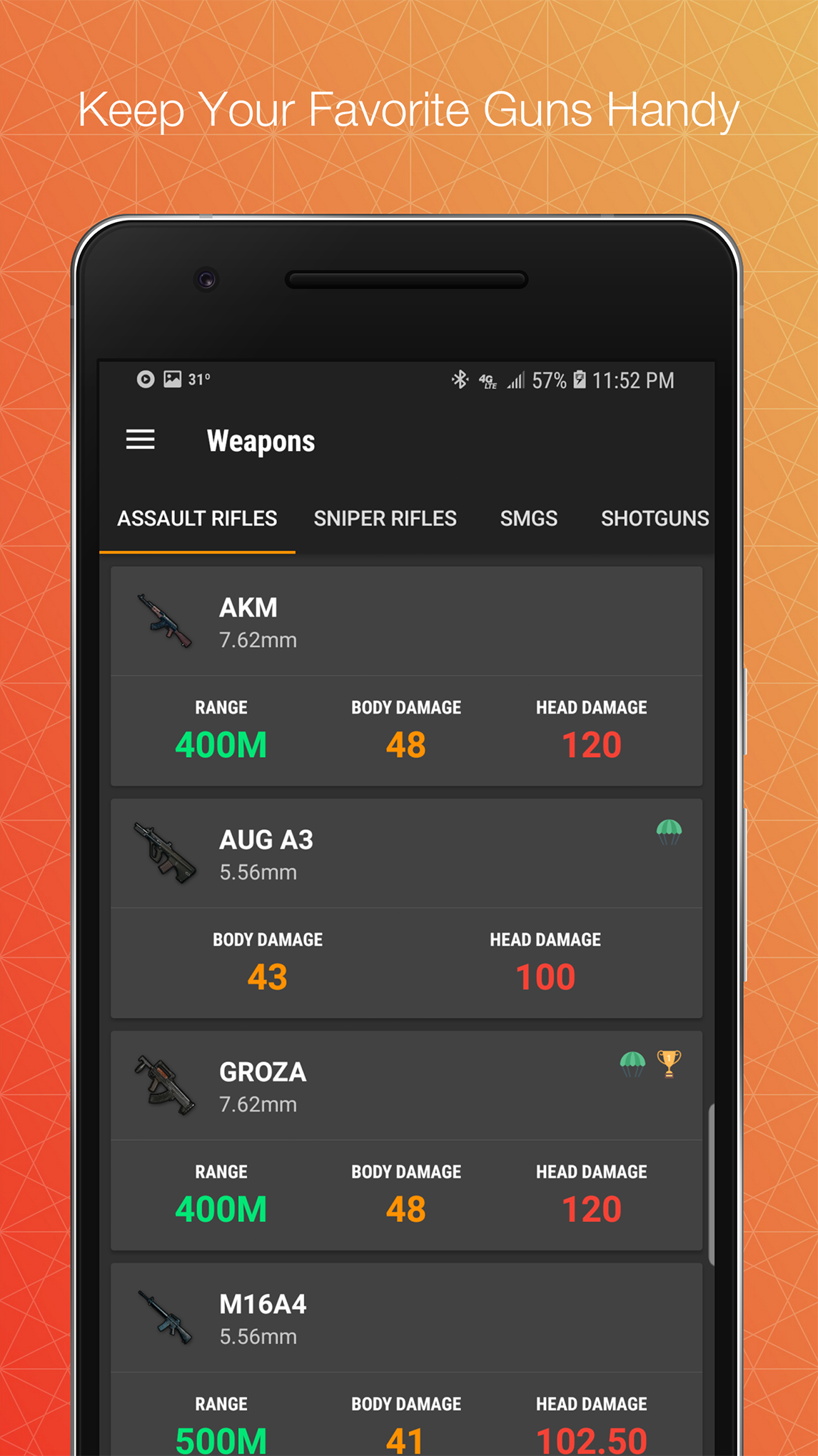 Battle Buddy for PUBG 1.1.0 Screen 2