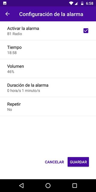 Android B1 Radio - Live Radio Screen 2