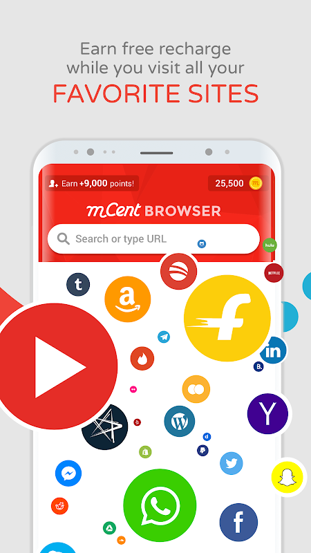 mCent Browser - Recharge Browser 0.13 Screen 4