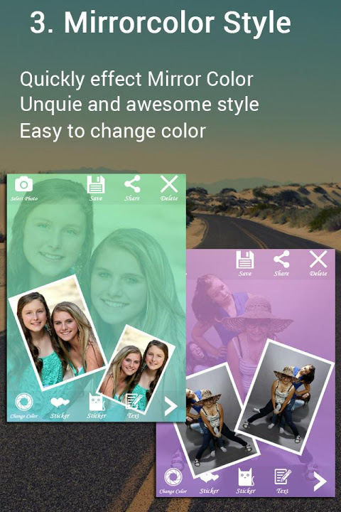Android Fotos - Photo editor & Collage Screen 3