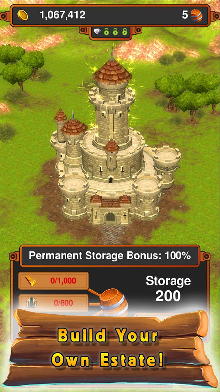 Android Crafting Kingdom Screen 3