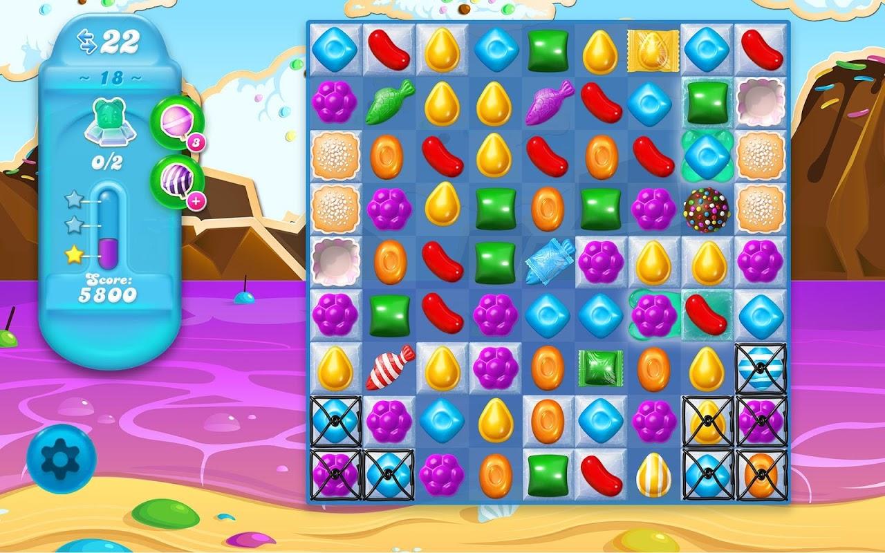 Android Candy Crush Soda Saga Screen 1