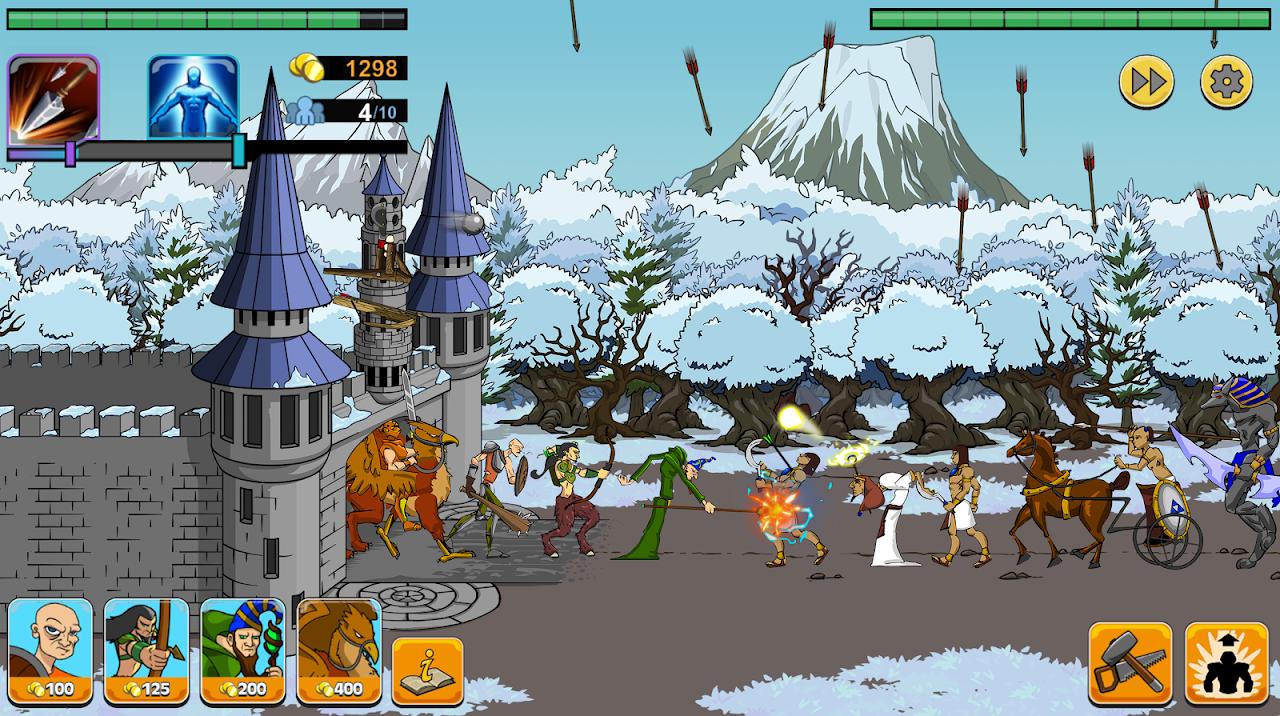 Age of War 2 1.4.4 Screen 4