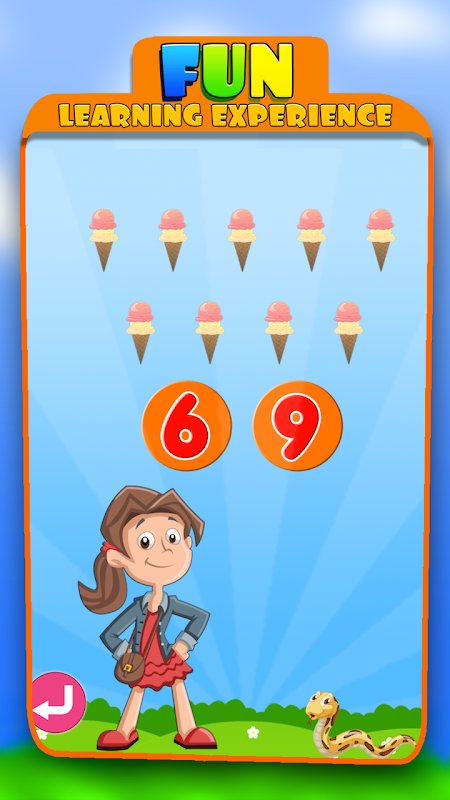 Android Kids Learning Educational Game Screen 3