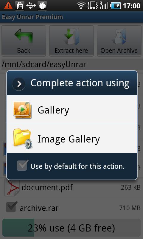 Easy Unrar, Unzip & Zip 3.4 Screen 6