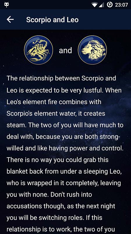 Daily Horoscope 1.1 Screen 4