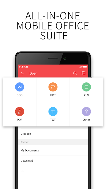 Android WPS Office + PDF Screen 2