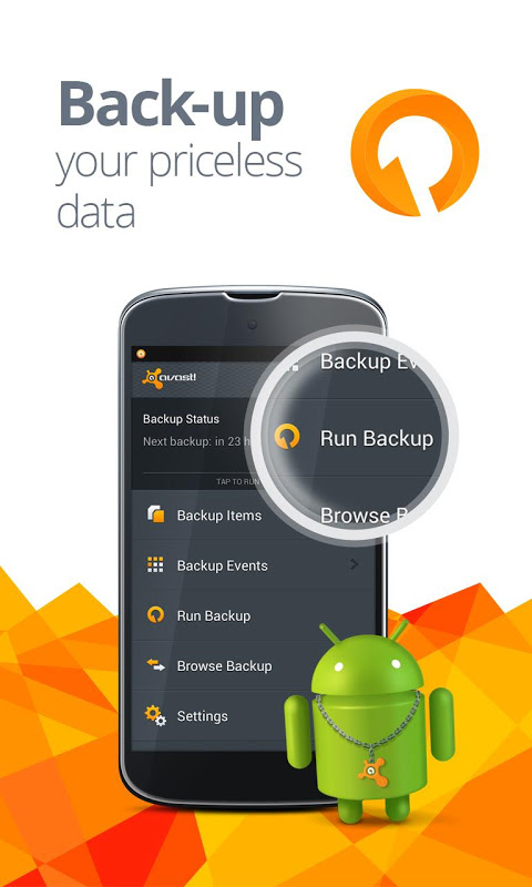 Android Avast Mobile Security Screen 1