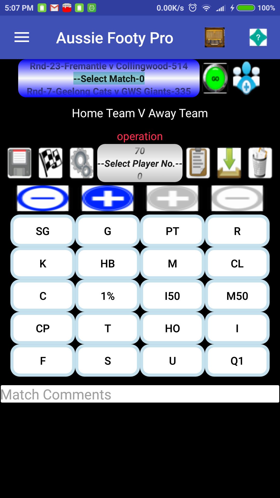 Aussie Rules Footy Predictor Plus 3.7 Screen 4