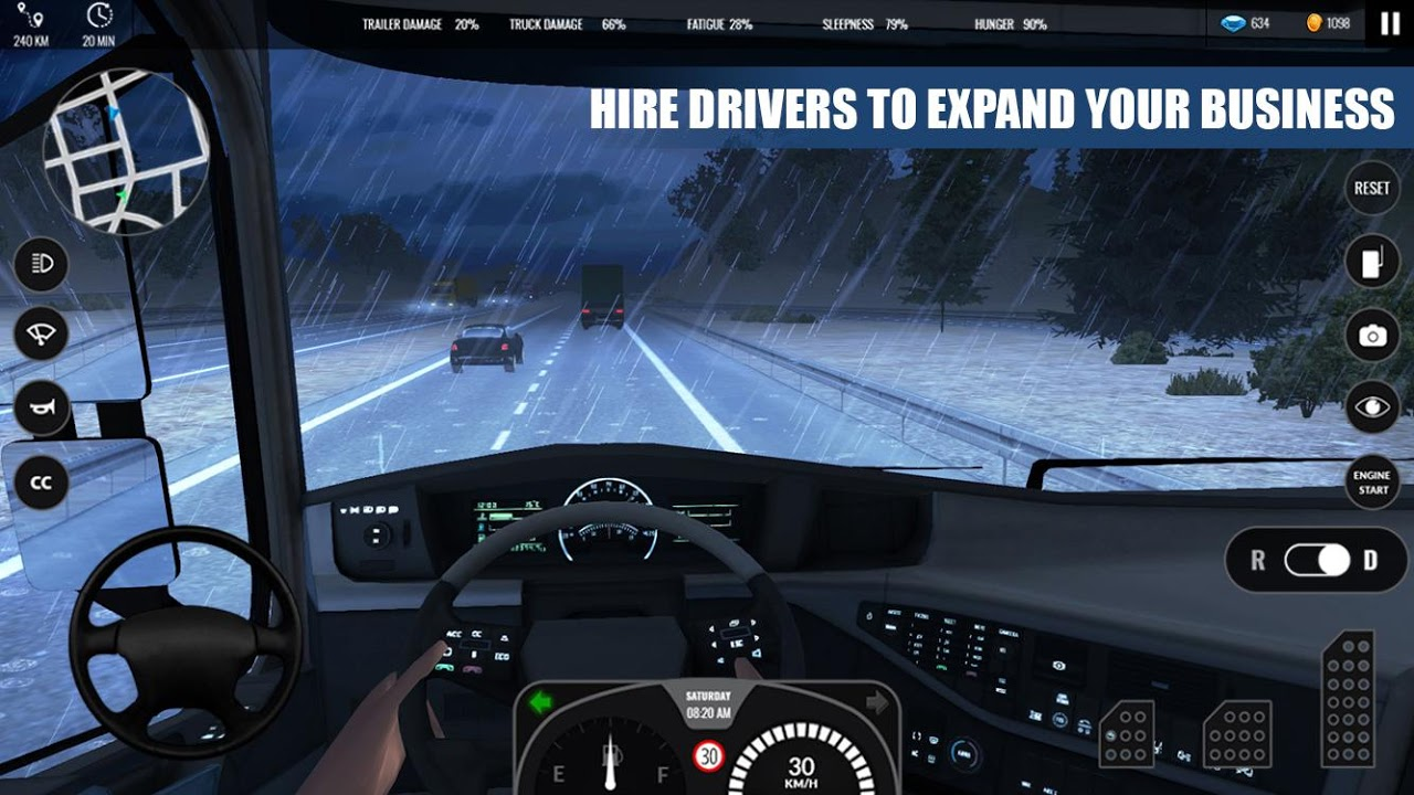 Truck Simulator PRO Europe 1.0 Screen 2